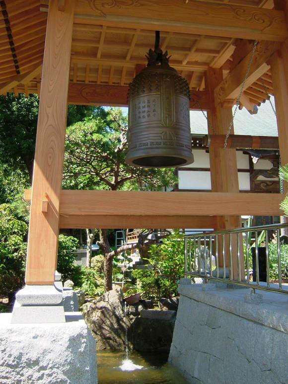 海蔵寺様  梵鐘
